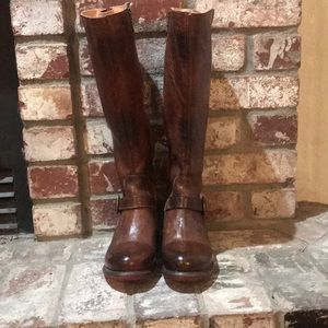 Bed Stu knee high boots 7.5 (fits like a 7)